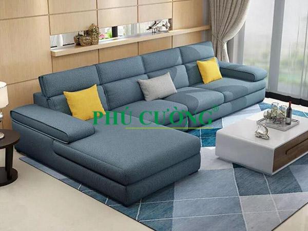 Sofa ghế vải – điều kì diệu giúp phòng khách trở nên ấm áp hơn P6