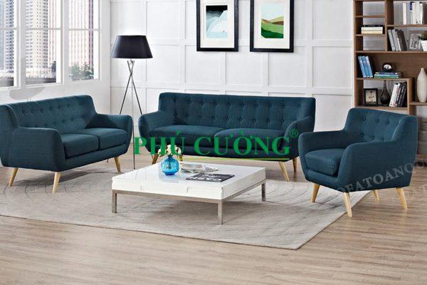 Văn phòng phải chọn sofa chất liệu da mới tăng thêm nét sang trọng