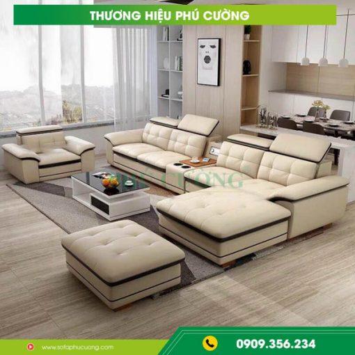 Cách phân biệt sofa bộ đẹp được bọc bằng chất liệu da bò và da trâu 2