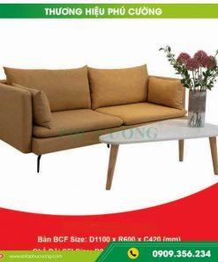 Ý tưởng phối màu cho sofa phòng khách đẹp hiện đại bọc da màu nâu 2
