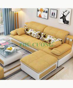 Top 6 mẫu ghế sofa màu cam giúp không gian phòng khách nổi bật 2