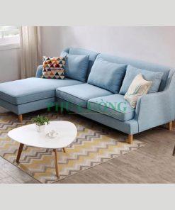 Ưu và nhược điểm của sofa góc cho căn hộ chung cư chất liệu gỗ