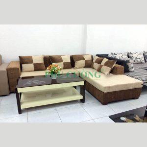 Ưu và nhược điểm của sofa góc cho căn hộ chung cư chất liệu gỗ 1