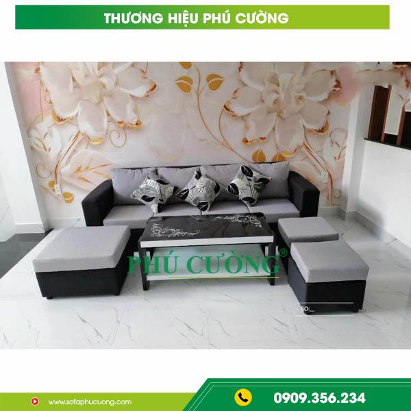 Sự ưu việt của ghế sofa chữ U cho không gian phòng khách rộng 2