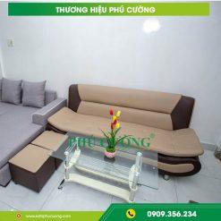Những ưu điểm và cách chọn ghế sofa quận Tân Phú chất liệu nỉ 2