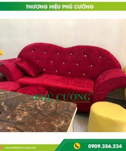 Tại sao nên chọn sofa nhung đẹp cho phòng khách hiện đại 3