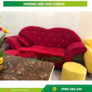 Địa chỉ bán ghế sofa vải nhung cao cấp chất lượng cao 1