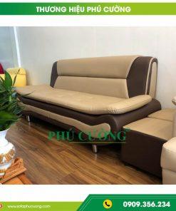 Cách bố trí sofa simili cao cấp đập tan cái nóng Sài Gòn 2