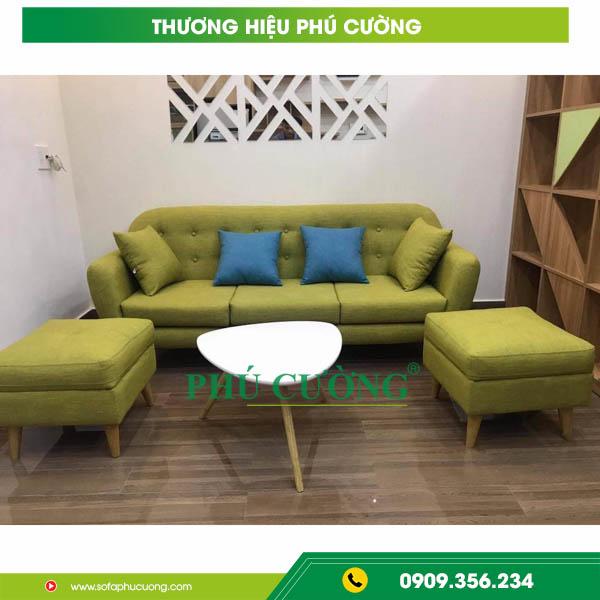 Cách chọn lựa sofa nhập khẩu hcm chất liệu vải cho phòng khách 2
