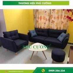 Những ưu điểm và cách chọn ghế sofa quận Tân Phú chất liệu nỉ