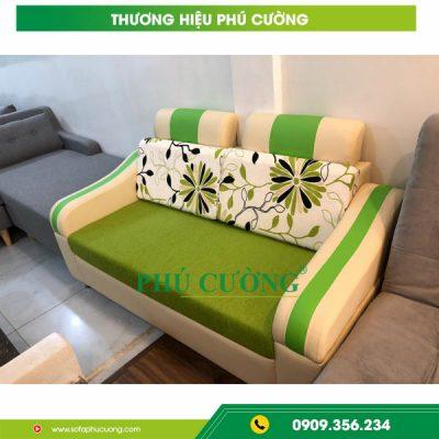 Sofa đẹp Biên Hòa màu xanh - Xu hướng nội thất nổi bật năm 2019