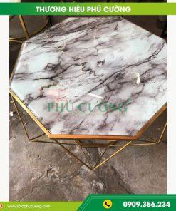 Tìm hiểu về 3 chất liệu được dùng làm bàn sofa đẹp Đà Nẵng 1