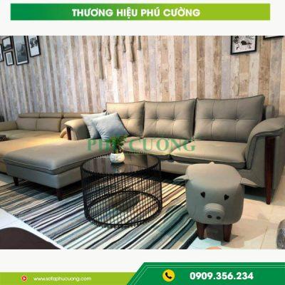 Sofa da bò 100% - Mẫu sofa phòng khách đẹp nhất hiện nay 3