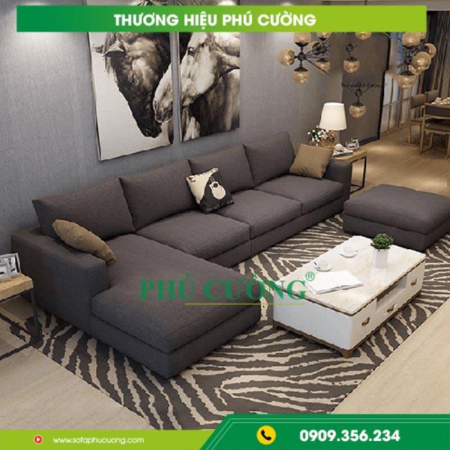 Mách bạn cách trang trí sofa đẹp phòng khách màu đen nổi bật 1