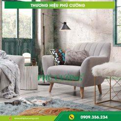 """Cách bày trí ghế sofa đẹp hiện đại với thế """"tựa lưng vào núi"""" 1"""