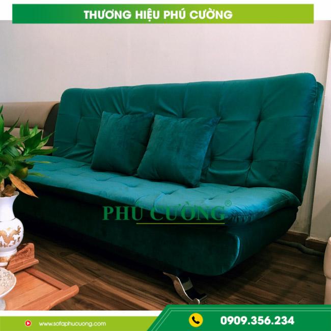 Có nên lựa chọn sofa vải nhung giá rẻ cho phòng khách nhà mình? 1