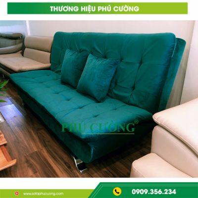 Tuyệt chiêu khi mua sofa văn phòng Phú Quốc màu xanh thoáng mát 2