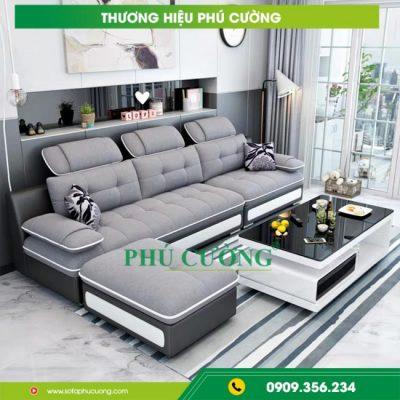 Ưu điểm lớn khi mua sofa da nhập khẩu Hàn Quốc tại Phú Cường