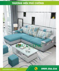 Cách trang trí ghế sofa đẹp Đà Nẵng bằng gối tựa lưng 1