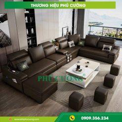 Mách bạn cách trang trí sofa đẹp phòng khách màu đen nổi bật 3