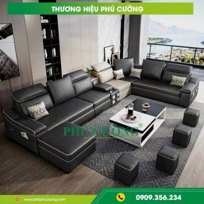 Ưu điểm lớn khi mua sofa da nhập khẩu Hàn Quốc tại Phú Cường 1