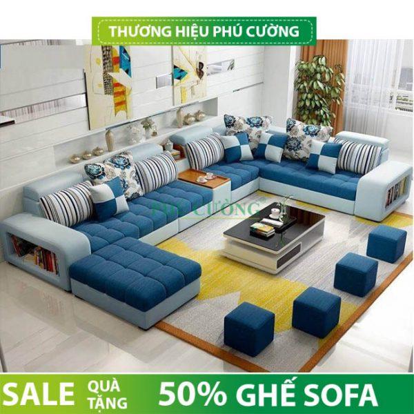 Sofa chữ U hiện đại Cần Thơ và những vị trí đặt lý tưởng trong phòng khách 1