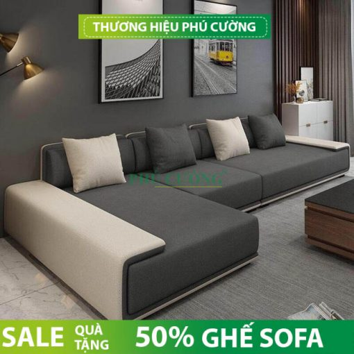 Kiểu dáng ghế sofa tân cổ điển đẹp cho nhà ống 2