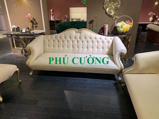 Mua các mẫu sofa văng tân cổ điển chất lượng cao tại Phú Cường