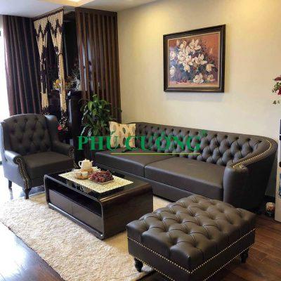 Vì sao nên chọn sofa nhập khẩu hcm màu đen cho phòng khách?