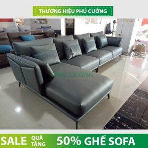 Kích thước chuẩn của sofa da thật TPHCM bạn nên biết