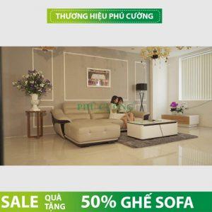 Mua ghế sofa da bò thật tiết kiệm 50% chi phí cho gia đình