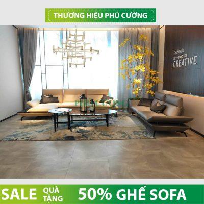 Cách đơn giản giúp phòng khách sang trọng hơn với mẫu sofa da hiện đại
