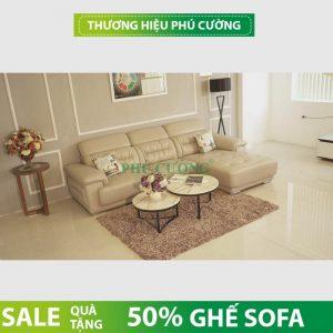 Chọn mua sofa da thật TP HCM theo diện tích tổng thể của căn hộ