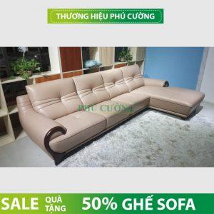 Mua ghế sofa da bò thật tiết kiệm 50% chi phí cho gia đình 2