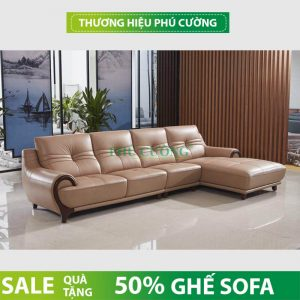 3 ưu điểm của sofa da thật nhập khẩu tại Nội thất Phú Cường 2