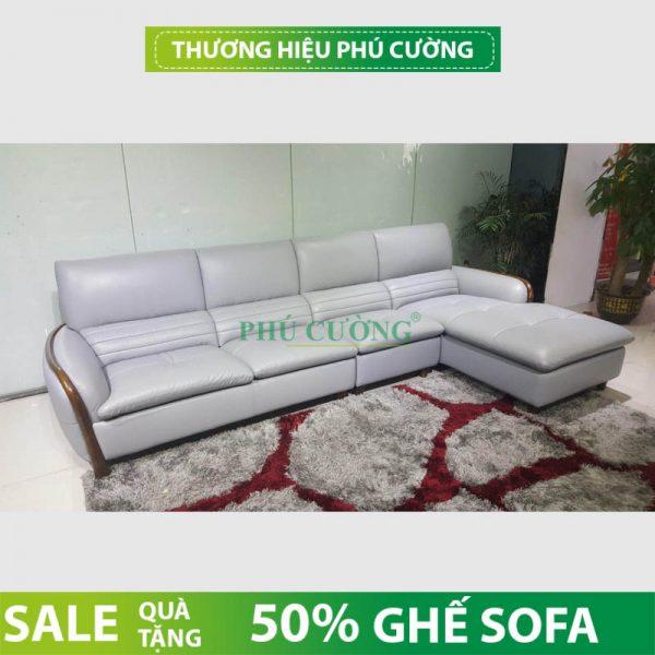 Kinh nghiệm mua sofa gỗ chữ L hiện đại đẹp cho phòng khách