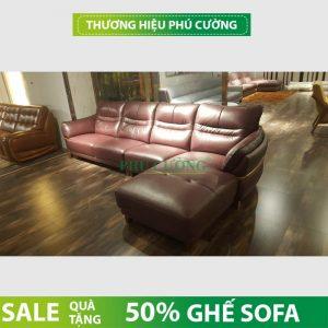 Sofa góc Đồng Tháp màu nâu - sự lựa chọn hoàn hảo cho khách hàng 2