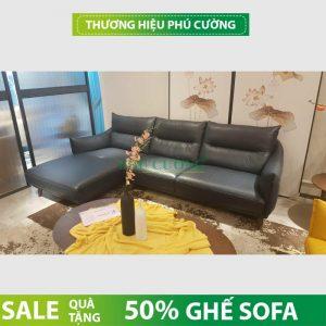 Lý do vàng bạn nên mua sofa da thật Phú Cường HCM 1