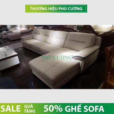 Cách đơn giản giúp phòng khách sang trọng hơn với mẫu sofa da hiện đại 1