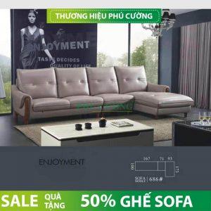 Lý do vàng bạn nên mua sofa da thật Phú Cường HCM 2