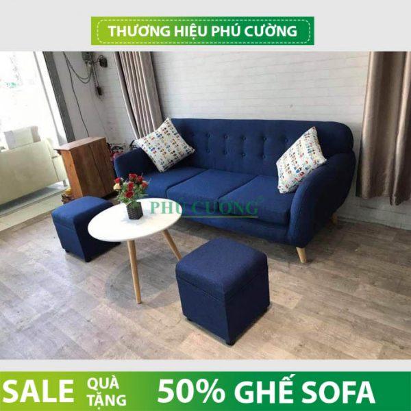 Ấn tượng với sofa băng Cần Thơ dài 3m chỉ có tại Phú Cường 3