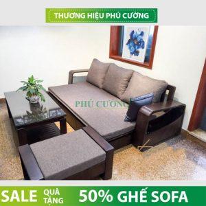 Có nên mua sofa giường gỗ sồi online hay không?