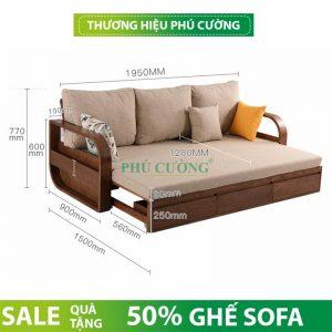 Bật mí cách sử dụng sofa gỗ hiện đại Cần Thơ chất lượng cao