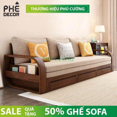 Phòng khách chật vẫn có thể dùng sofa bed nhập khẩu