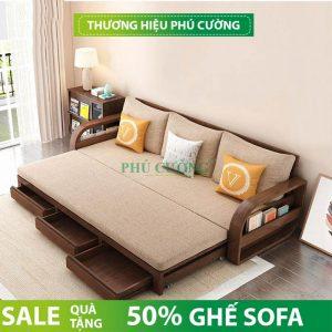 Kiểu sofa hiện đại giá rẻ chất liệu gỗ được yêu thích nhất hiện nay 1
