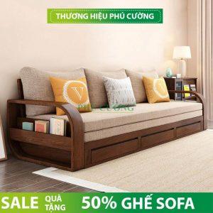 Lý do nên chọn ghế sofa giường bằng gỗ cho gia đình mình 1