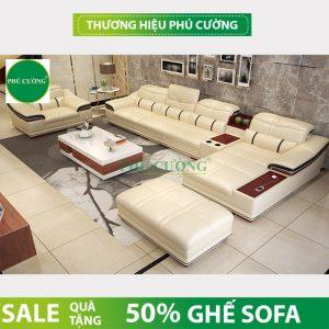 Bật mí những tuyệt chiêu sử dụng sofa góc Sóc Trăng màu trắng 3