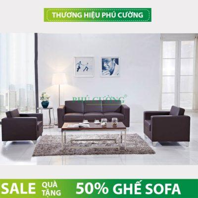 Gia đình tràn đầy năng lượng với sofa hiện đại nội thất Phú Cường