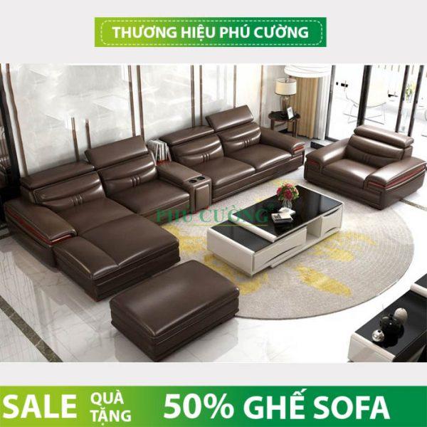 Top các sản phẩm sofa nhập khẩu huyện Cờ Đỏ chất liệu da tại Cần Thơ 3