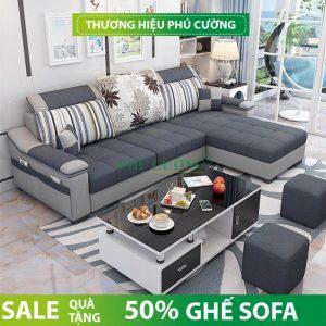 Địa chỉ mua sofa gỗ chữ L hiện đại chất lượng cao tại Cần Thơ 1